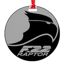 F-22 Raptor - Grey Ornament