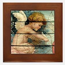 Lil Cupid Framed Tile