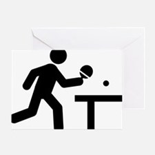Ping-Pong-A Greeting Card