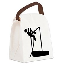 Pole-Vault-A Canvas Lunch Bag