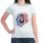Patriotic Guy Jr. Ringer T-Shirt