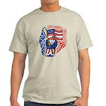 Patriotic Guy Light T-Shirt