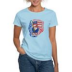 Patriotic Guy Women's Light T-Shirt