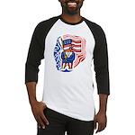 Patriotic Guy Baseball Jersey