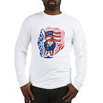 Patriotic Guy Long Sleeve T-Shirt