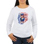 Patriotic Guy Women's Long Sleeve T-Shirt