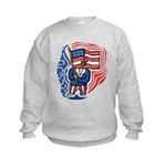 Patriotic Guy Kids Sweatshirt
