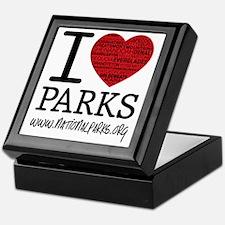 heart parks Keepsake Box