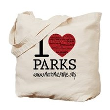 heart parks Tote Bag