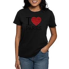heart parks Tee