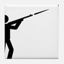 Skeet-Shooting-A Tile Coaster