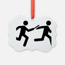 Relay-Runner-A Ornament