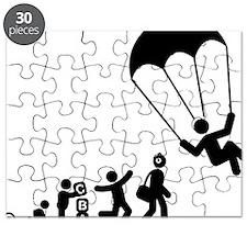 Parachuting-E Puzzle