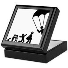 Parachuting-E Keepsake Box