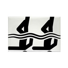 Synchronized-Swimming-A Rectangle Magnet