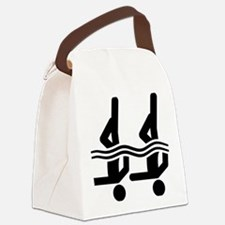 Synchronized-Swimming-A Canvas Lunch Bag
