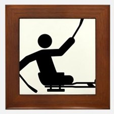 Physically-Challenge-Sled-Hockey-A Framed Tile