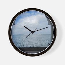 Bay Window Wall Clock