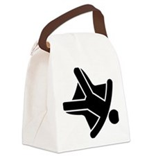Skydiving-A Canvas Lunch Bag