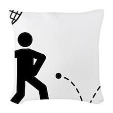 Squash-A Woven Throw Pillow