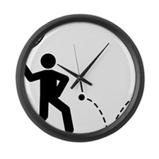 Squash-A Large Wall Clock