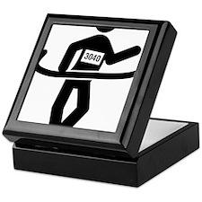 Race-Walking-A Keepsake Box