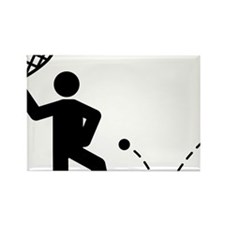Racquetball-A Rectangle Magnet