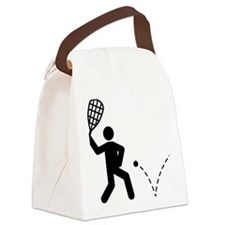 Racquetball-A Canvas Lunch Bag