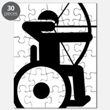 Wheelchair-Archery-A Puzzle