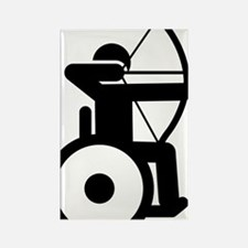 Wheelchair-Archery-A Rectangle Magnet