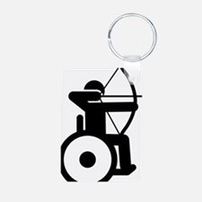 Wheelchair-Archery-A Keychains