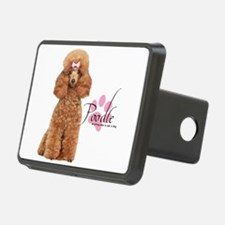 Poodle Hitch Cover