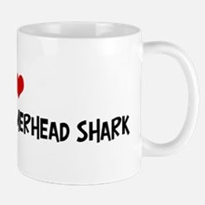 I Love Scalloped Hammerhead S Mug