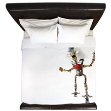 HAVE TIME TRAVELING MACHINE WILL TRAVEL King Duvet