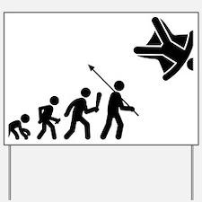 Skydiving-C Yard Sign