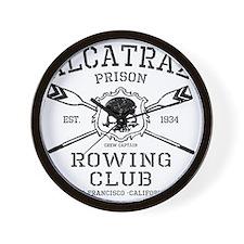Alcatraz Rowing club Wall Clock