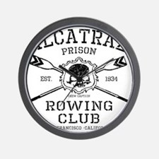 Alcatraz Rowing club Wall Clock