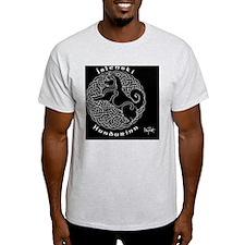 Icelandic Sheepdog Black Background  T-Shirt