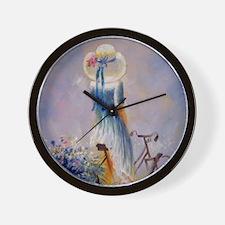 shower_curtain_kl Wall Clock
