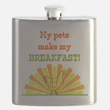 My pets make my breakfast Flask