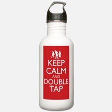 Keep Calm and Double T Water Bottle
