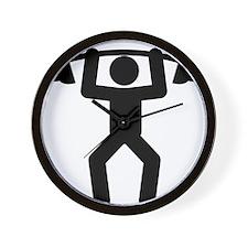 Weightlifting-A Wall Clock