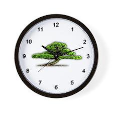 Bonsai Wall Clock