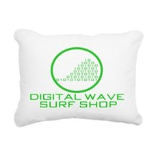 logowithoutbgothicgreent Rectangular Canvas Pillow