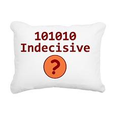 Binary 101010 Rectangular Canvas Pillow