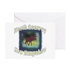 North Conway , New Hampshire  Greeting Cards (Pack