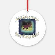 North Conway , New Hampshire  Ornament (Round)