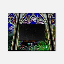 spirit christian stained glass bapti Picture Frame