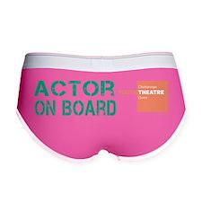 Actor On Board Women's Boy Brief