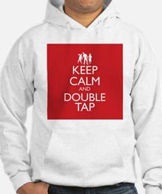 Keep Calm and Double Tap Hoodie